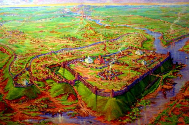 Medieval Chernigov fortress