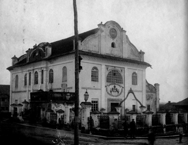 Shepetovka Synagogue from XIX century. Photograph by An-sky expedition in 1912